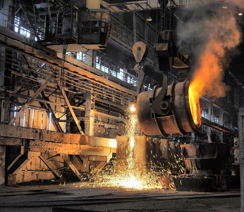 manufacturing steel